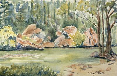 Lazy River Original by Mary Benke