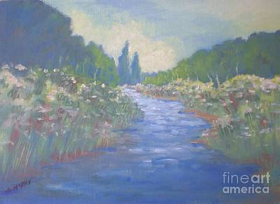 Painting - Lazy River by Suzanne McKay