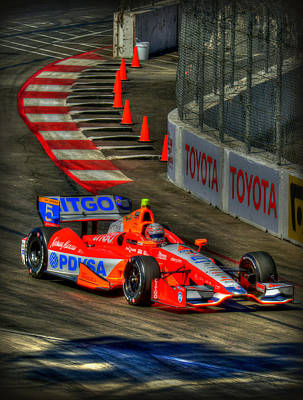 Indy Car Photograph - Lbgp 8 by Craig Incardone