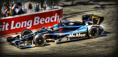 Indy Car Photograph - Lbgp 9 by Craig Incardone