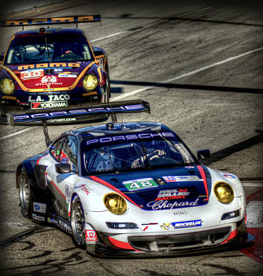 Lbgp Porsche Art Print by Craig Incardone
