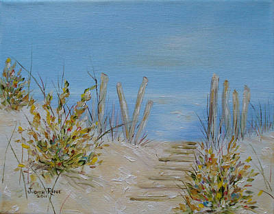Lbi Peace Art Print by Judith Rhue