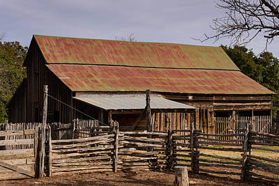 Photograph - Lbj Barn by John Johnson
