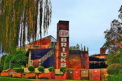 Photograph - Lbw Brick Works 01 by Kevin Chippindall