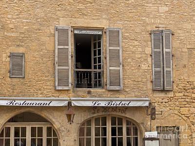 Photograph - Le Bistro Restaurant by Paul Topp