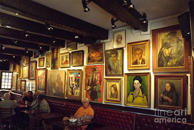 Le Cafe D'art Art Print by France  Art