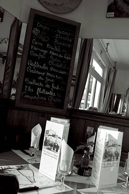 Photograph - Le Cafe by Matthew Pace