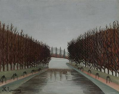 Perspective Painting - Le Canal, C.1905 by Henri J.F. Rousseau