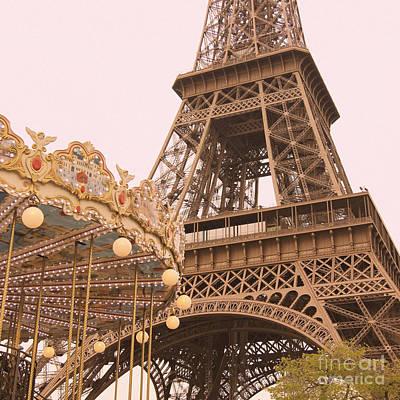 Photograph - le Carrousel de la Tour Eiffel by Heidi Hermes