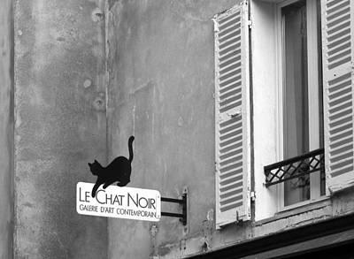 Photograph - Le Chat Noir by Nikolyn McDonald