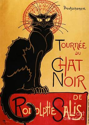 Le Chat Noir Art Print by Pg Reproductions