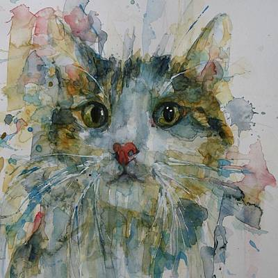 Google Painting - Le Chat by Paul Lovering