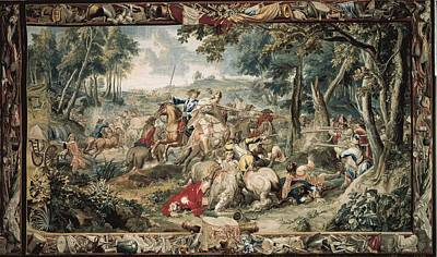 Tapestries Textiles Photograph - Le Clerc, J�r�me  17th C.. Ambush by Everett