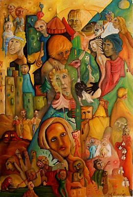 Painting - Le Deconte De Nawel by Jeff  Roland