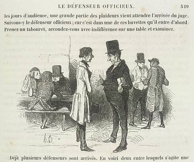 Le Defenseur Officieux Art Print by British Library