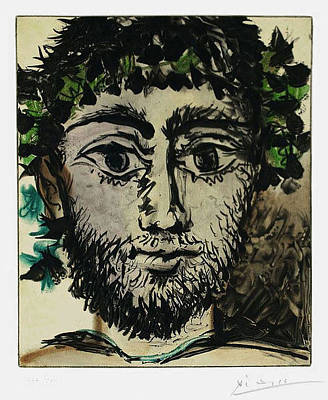 Youthful Mixed Media - Le Faune by Pablo Picasso