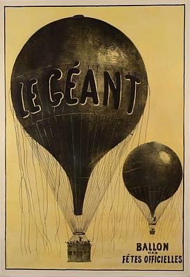 Le Geant Ballon Art Print