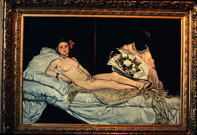 Le Grande Odalisque By Ingre Print by Carl Purcell