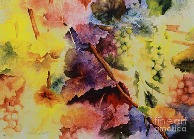 Napa Painting - Le Magie D' Automne by Maria Hunt