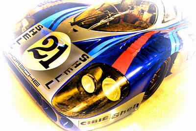 Long Tailed Photograph - Le Mans 1971 Porsche 917 Lh by Olivier Le Queinec