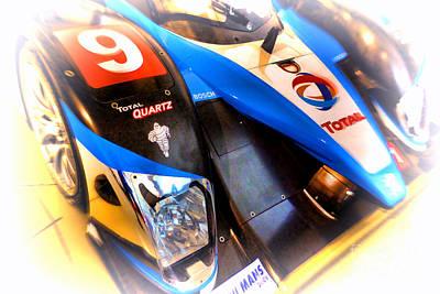 Le Mans 2003 Peugeot Courage Pescarolo C60 Art Print