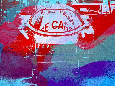 Concept Photograph - Le Mans Racer During Pit Stop by Naxart Studio