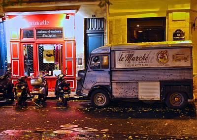 Photograph - Le Marche Van by Matt MacMillan