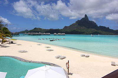 Photograph - Le Meridien Bora Bora by Andrei Fried