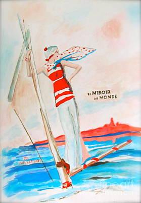 Painting - Le Miroir Du Monde by Beth Saffer