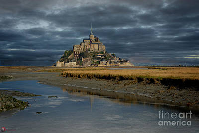Photograph - Le Mont Saint-michel by Rob Heath