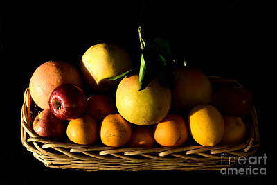 Photograph - Le Panier De Fruits by Gary Smith
