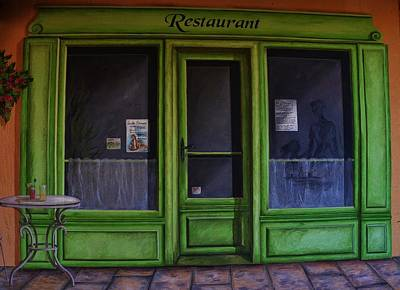 Photograph - Le Restaurant by Dany Lison
