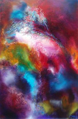 Painting - Le Sang Pourpre De La Terre by Bielen Andre
