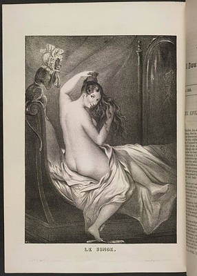 Depictions Of Nudity Photograph - Le Singe by British Library