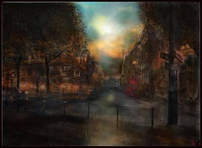 Ingo Art Wall Art - Painting - Le Solferino  Paris   by Ingo  Ulrich
