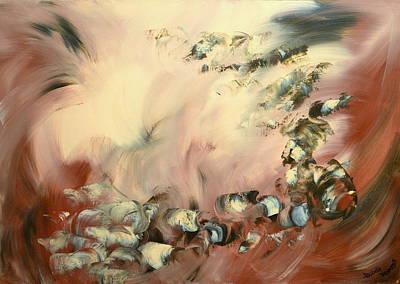 Painting - Le Souffle De L Ange by Isabelle Vobmann