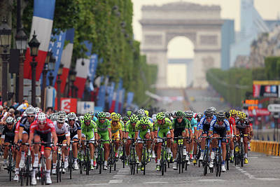 Photograph - Le Tour De France 2014 - Stage Twenty by Bryn Lennon
