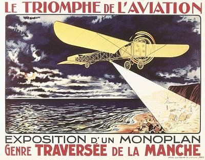 Belle Epoque Photograph - Le Triomphe De Laviation. Exposition by Everett