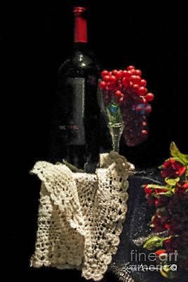 Le Vin Art Print