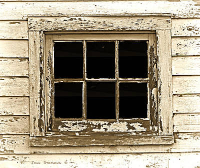 Photograph - This Old Window by John Stephens