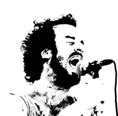 Lead Singer Art Print by James Hammen