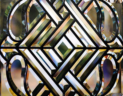 Photograph - Leaded Glass by Cathy Jourdan