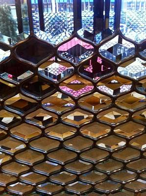 Photograph - Leaded Glass Windows by Susan Garren