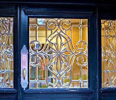 Photograph - Leaded Window by Douglas Pike