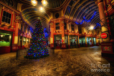 D700 Photograph - Leadenhall Market Hdr 03 Warm by Jack Torcello