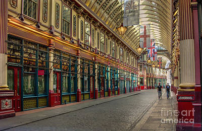 Harry Potter Digital Art - Leadenhall Market London by Donald Davis