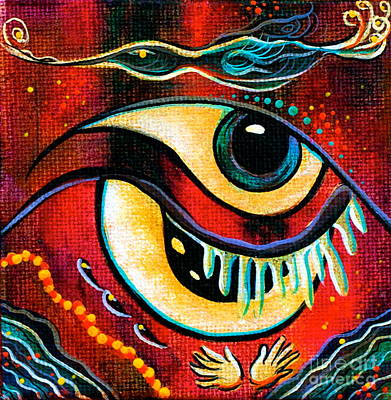 Leadership Spirit Eye Art Print
