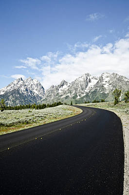 Photograph - Leading Into The Tetons by Crystal Wightman