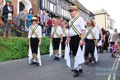 Photograph - Leading Lights Morris Dancers Hastings by David Fowler