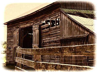 Frank Sinatra - Leading to the Barn by Jo-Anne Gazo-McKim